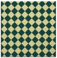 rug #234389 | square yellow check rug
