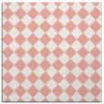 rug #234405 | square pink check rug