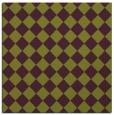 rug #234413 | square purple check rug