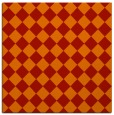 rug #234429 | square red check rug