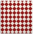 rug #234433 | square red check rug