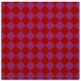 rug #234437 | square pink check rug