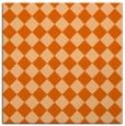 rug #234445 | square red-orange check rug