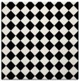 rug #234457 | square black check rug