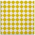 rug #234461 | square white check rug