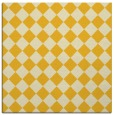 rug #234473 | square yellow check rug