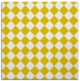rug #234485 | square yellow check rug