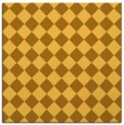 rug #234489 | square yellow check rug