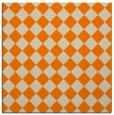 rug #234501 | square orange check rug