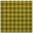 rug #234505 | square light-green check rug