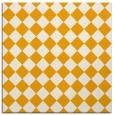 rug #234521 | square light-orange check rug