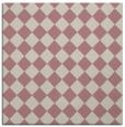 rug #234525 | square pink check rug