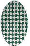 rug #234669 | oval retro rug