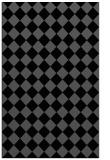 rug #234897 |  black check rug