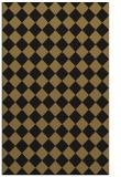rug #234909 |  mid-brown check rug