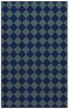 rug #234921 |  blue-green check rug