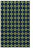 rug #234925 |  blue check rug
