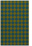 rug #234949 |  blue-green retro rug