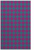 rug #234953 |  pink check rug