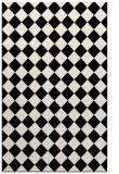 rug #234965 |  blue-green check rug