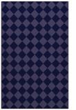 rug #234973    blue-violet check rug