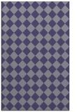 rug #234977 |  blue-violet check rug