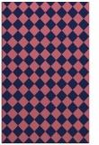 rug #234981 |  blue-violet check rug