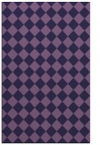 rug #234985 |  purple check rug