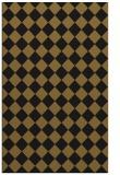 rug #235005 |  black check rug