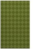 rug #235013 |  green check rug