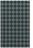 rug #235017 |  green check rug