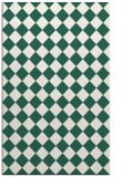 rug #235021 |  blue-green check rug