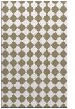 rug #235029 |  mid-brown check rug