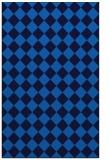 rug #235057 |  blue check rug
