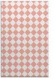 rug #235109 |  white check rug