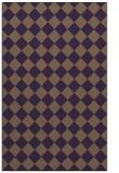 rug #235121 |  purple check rug