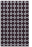rug #235125 |  purple check rug