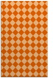 rug #235149 |  red-orange check rug
