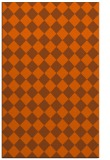 rug #235153 |  red-orange check rug