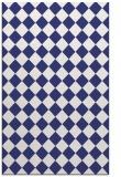 rug #235169 |  white check rug