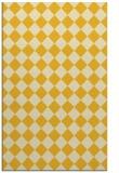 rug #235177 |  yellow check rug