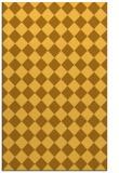 rug #235193 |  yellow check rug