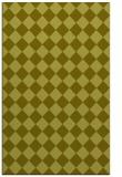rug #235209 |  light-green check rug