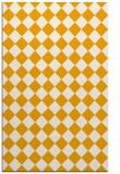 rug #235225 |  light-orange check rug