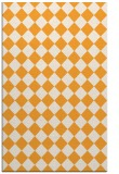 rug #235237 |  light-orange check rug