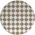 rug #235241 | round check rug