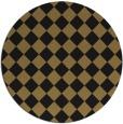 rug #235262   round check rug