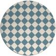 rug #235266 | round check rug