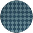 rug #235267   round check rug