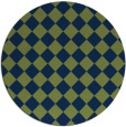 rug #235278 | round check rug
